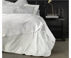 Suite 2603 by Adolfo Carrara Studio Design Drap supérieur, 100% Coton, lit, 39x 26x 4cm 39x26x4 cm Bianco