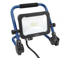 ANSMANN LED 20W projecteur– Projecteur de travail lecture de vrai couleur CRI >80, lampe de travail IP54 résistante au mauvais temps, pied avec statif dispositif