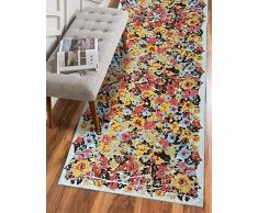 Mon Desire Tapis de Protection, Multicolore, 75X300
