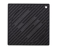 Scanpan SC01570 Dessous de Plat, Silicone, Noir, 18 cm