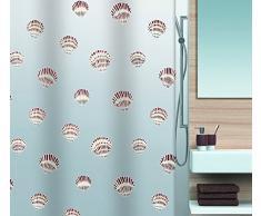 Spirella 10.15239 Rideau de Douche Shell Brown Peva 180 x 200 cm
