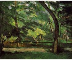 OdsanArt 12 x 10 cm-The Post Impressionism étang des autres Soeurs à OsnyPar Paul Cezanne haute qualité Fine Art Prints Reproduction de photographie dArt sur toile