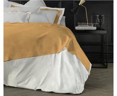 Suite 2603 by Adolfo Carrara Studio Design Drap supérieur, 100% Coton, lit, 39x 26x 4cm 39x26x4 cm Or