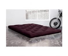 KARUP Matelas FUTON DOUBLE LATEX violet 200*200*18cm