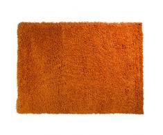 Just Contempo Tapis à poils longs, beige, 120x 170cm, Orange, 80 x 150 cm