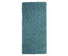 Andiamo 1100189 Vannes Tapis à poils longs tissé de manière industrielle Turquoise 60 x 110 cm