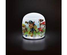 FUN HOUSE 713191 Pat Patrouille Lampe Gonflable pour Enfant, Rouge