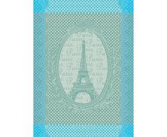 Garnier Thiebaut Torchon, Coton, Céladon, 56x77 cm