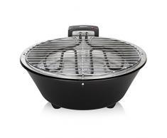 Tristar Barbecue électrique BQ-2884, Modèle de Table-Ø 30 cm, Noir