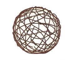 Eglo 90906 Lampe de table Métal, E14, Marron