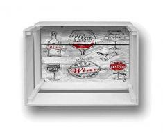Décoration murale étagère Shelf Box 30 x 40 cm H.20 Wine