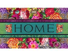 HMT 6752441002 Eliza Paillasson Eco Caoutchouc Multicolore 45 x 75 cm