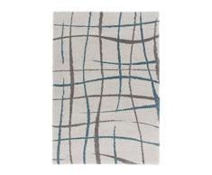 Lalee 347247288, moderne, SHAGGY à Designer Tapis Shaggy Poils Longs, 100 % polypropylène, beige, 80 x 150 cm
