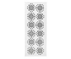 Vallila Chemin de Table 100% Coton, Gris Clair, 150x80 cm