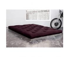KARUP Matelas FUTON DOUBLE LATEX violet 180*200*18cm