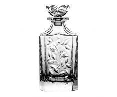 Crystaljulia 05631 Carafe à whisky en cristal de plomb 500 ml