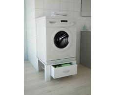 Respekta Rehausseur de machine à laver en acier