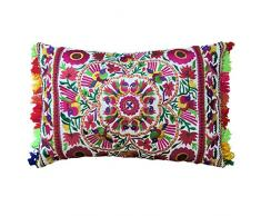 Bombay Duck rectangulaire Festival Coussin brodé Brights
