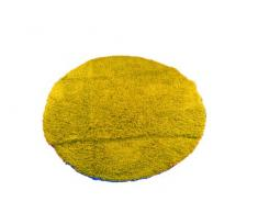Gözze 1010-1034-73 Tapis à poils longs en coton Conforme à la norme Ökotex Jaune 110 cm