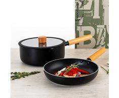 HABITAT QD Set de casserole + couvercle 20 cm