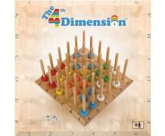 Thimble Toys Dé à Coudre Jouets La 4ème Dimension Jeu, en Bois