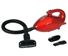 efbe-Schott SC HSS 1003 R Aspirateur à Main pour Domicile/Voiture sans Sac, 800 W, Rouge
