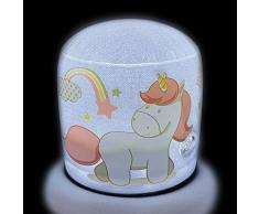 FUN HOUSE 713192 Licorne Lampe Gonflable, Rose