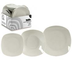 AR 41082 Service de table en porcelaine 18 pièces – 6 services, différents