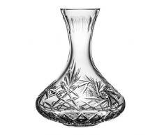 Crystaljulia 11522 Carafe à vin en cristal de plomb 1250 ml