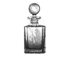 Crystaljulia 16100 Carafe à whisky en cristal transparent