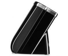 KitchenAid Bloc à Couteaux Solo, Fonte Métal, Fonte, Onyx Noir, 30x 25x 20Cm