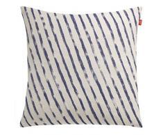 Esprit Home 21466-080-50-50 Coussin Sergé 50 X 50 Cm, Bleu