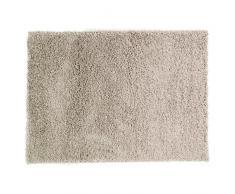 Just Contempo Tapis à poils longs, beige, 120 x 170 cm, gris argenté, 80 x 150 cm