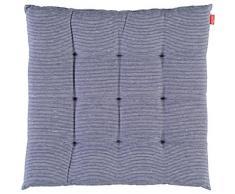 Esprit Home 21455-081-40-40 Coussin de chaise à rayures fines Bleu 40 x 40 cm