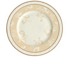 Villeroy & Boch 10-4390-2650 Assiette à Dessert Porcelaine Or 22,5 x 22,6 x 7,6 cm 1 Assiette