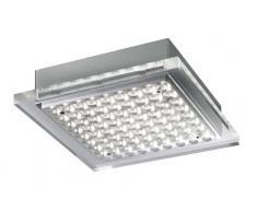 Paul Neuhaus 6132-55 Plafonnier LED 16,2 W Acier 17,5 x 17,5 x 4,2 cm