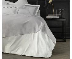 Suite 2603 by Adolfo Carrara Studio Design Drap supérieur, 100% Coton, lit, 39x 26x 4cm 39x26x4 cm Madreperla