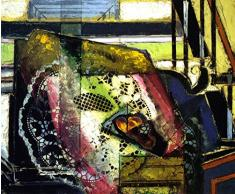 OdsanArt 12 x 10 cm-créatifs Still Life Still vie avec napperon imprimé et RollPar Alfred Henry Maurer haute qualité Fine Art Prints Reproduction de photographie dArt sur toile