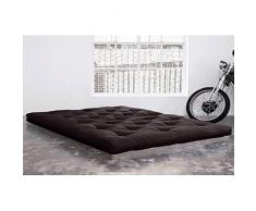 KARUP Matelas FUTON DOUBLE LATEX grey graphite 180*200*18cm