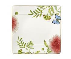 Villeroy & Boch 10-3514-2580 Assiette à Dessert Porcelaine Vert 33 x 44,4 x 4,2 cm