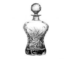Crystaljulia 05868 Carafe à vin en cristal de plomb 750 ml