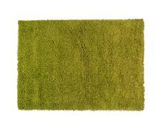 Just Contempo Tapis à poils longs, beige, 120 x 170 cm, Vert, 120 x 170 cm