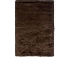 Un Amour de Tapis 13772 Imola Tapis Shaggy à Poil Long Polyester Chocolat/Marron 170 x 240 cm