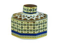 Easy Life 2065AMLB Diffuseur Parfum, Porcelaine, Multicouleur, 12 x 4 x 12 cm