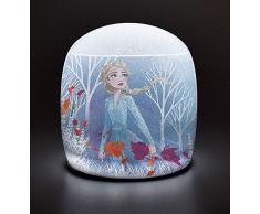 FUN HOUSE 713190 Disney Reine des NEIGES Lampe Gonflable pour Enfant, Violet