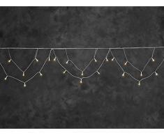 Konstsmide 2746-802 Rideau Lumineux Stalactites à LED, Plastique, 2 W, Or, 1540 x 1 x 26 cm