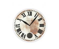NexTime 8162 Romana Horloge Plastic Blanc
