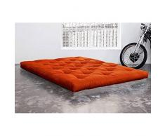 KARUP Matelas FUTON DOUBLE LATEX orange 160*200*18cm