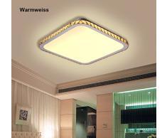 natsen® Moderne cristal LED plafonnier lampe murale jx829 24 W éclairage plafonniers plafond blanc chaud