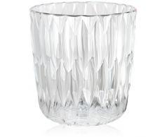 Kartell JELLY vase, cristal